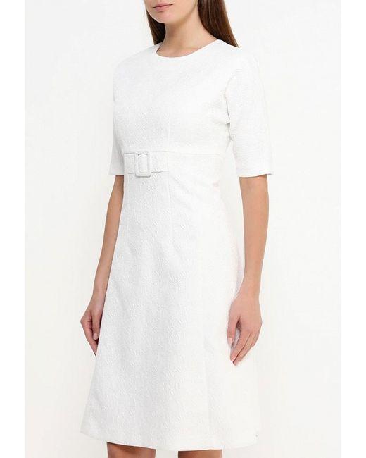 Платье Devore                                                                                                              белый цвет