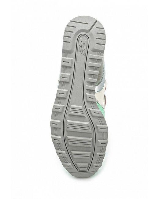 Кроссовки New Balance                                                                                                              зелёный цвет