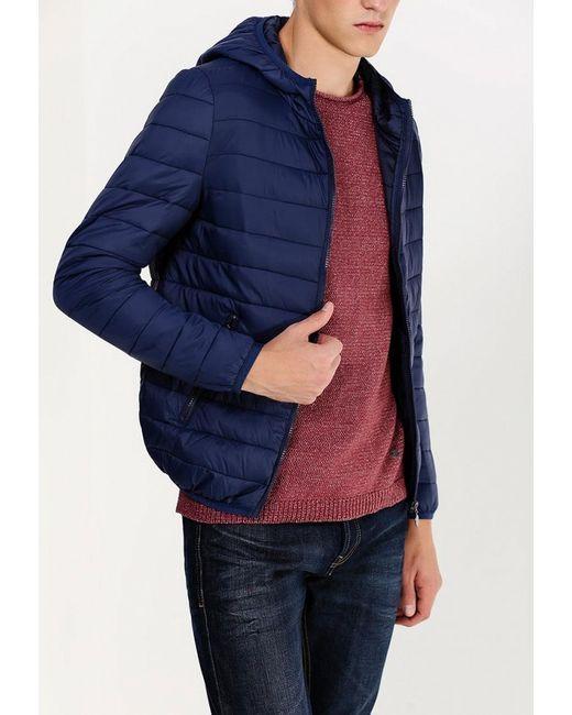 Куртка Утепленная New Brams                                                                                                              синий цвет