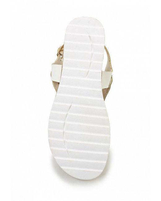 Сандалии Nia Moda                                                                                                              белый цвет