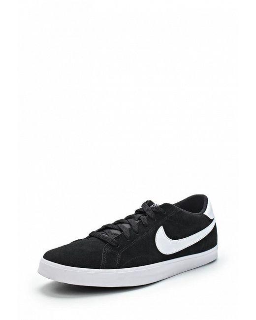 Кеды Nike                                                                                                              чёрный цвет
