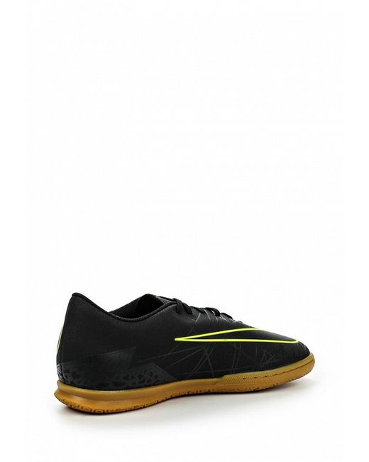 Бутсы Зальные Nike                                                                                                              чёрный цвет