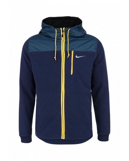 Толстовка Nike                                                                                                              синий цвет