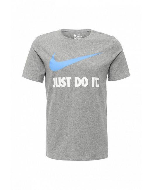 Футболка Nike                                                                                                              серый цвет