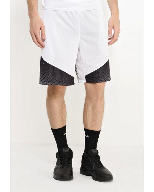 Шорты Спортивные Nike                                                                                                              белый цвет