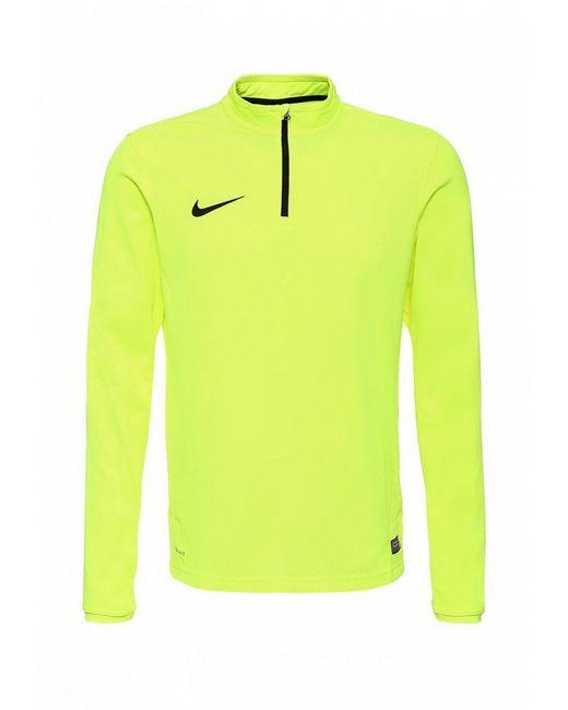 Лонгслив Спортивный Nike                                                                                                              желтый цвет