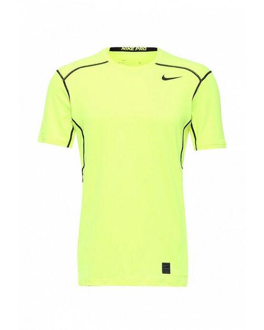 Футболка Спортивная Nike                                                                                                              желтый цвет