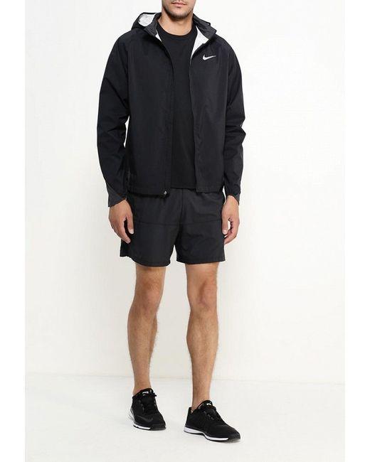 Куртка Nike                                                                                                              чёрный цвет