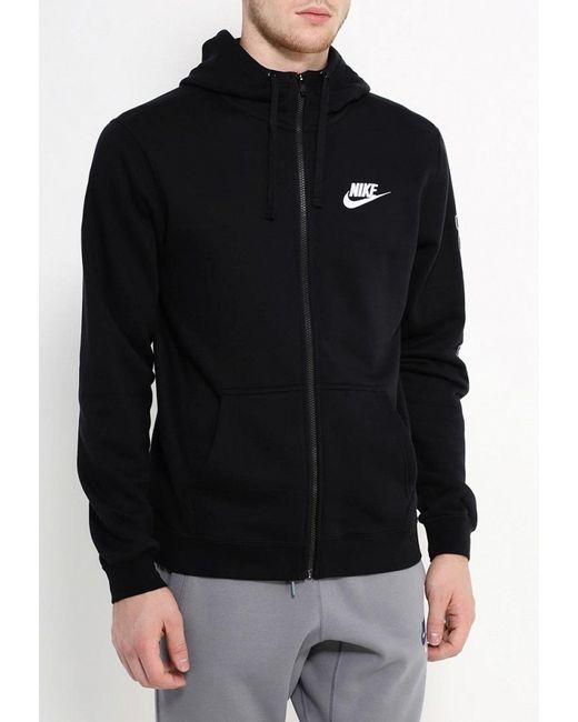 Толстовка Nike                                                                                                              чёрный цвет