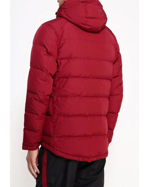 Пуховик Nike                                                                                                              красный цвет