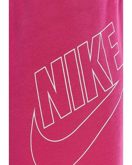 Шорты Nike                                                                                                              розовый цвет