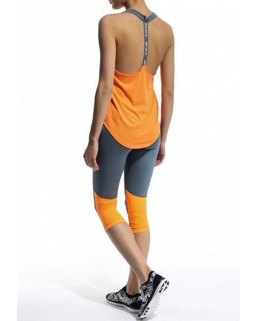 Майка Спортивная Nike                                                                                                              оранжевый цвет