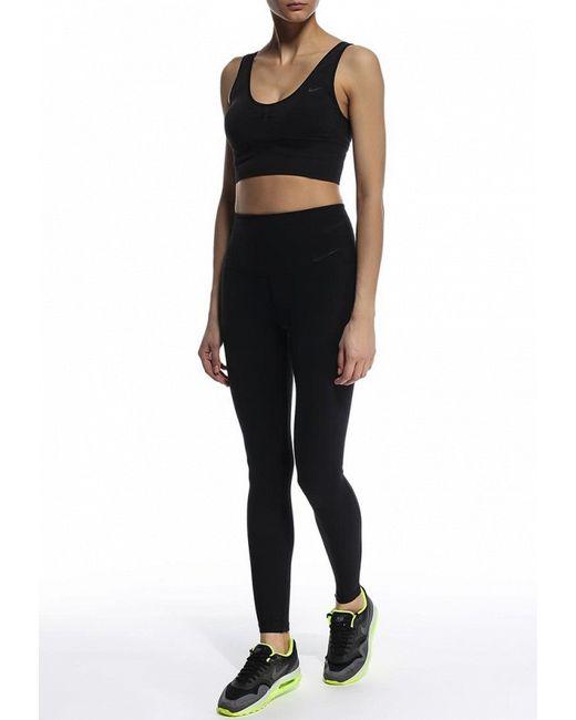 Топ Спортивный Nike                                                                                                              чёрный цвет