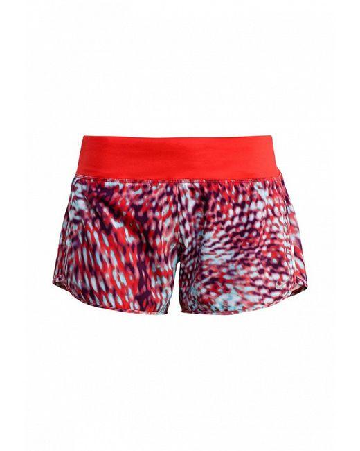 Шорты Спортивные Nike                                                                                                              красный цвет