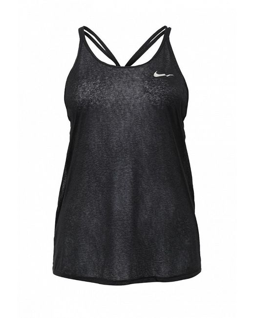 Майка Спортивная Nike                                                                                                              чёрный цвет