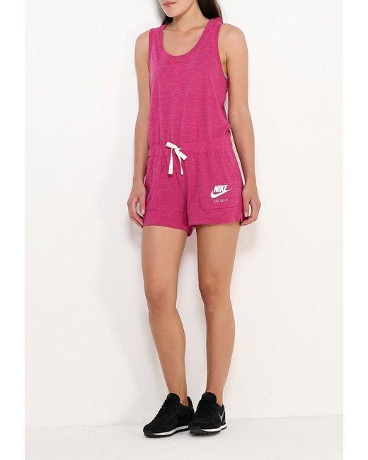 Комбинезон Nike                                                                                                              Фуксия цвет