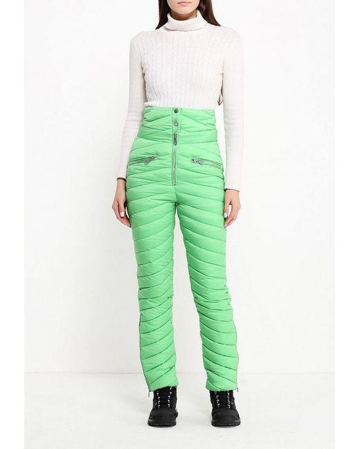Брюки Утепленные Odri                                                                                                              зелёный цвет