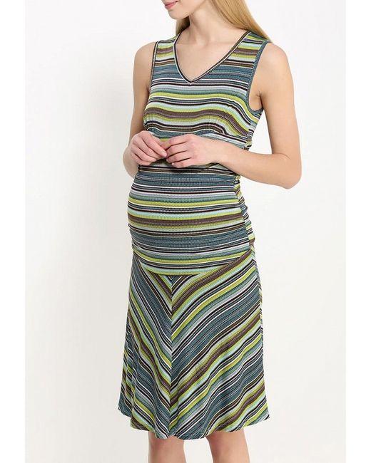 Платье One+One                                                                                                              многоцветный цвет