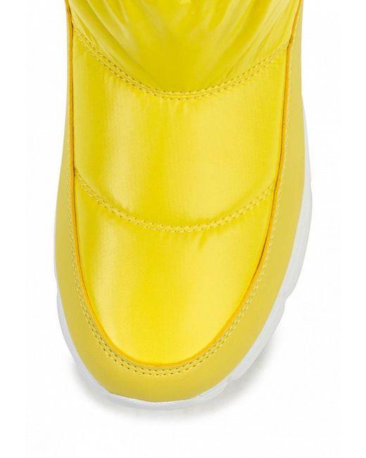 Дутики Patrol                                                                                                              желтый цвет