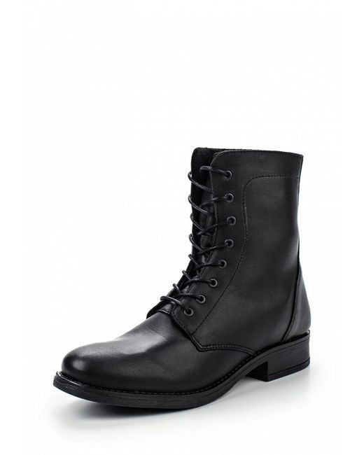 Ботинки Pieces                                                                                                              чёрный цвет