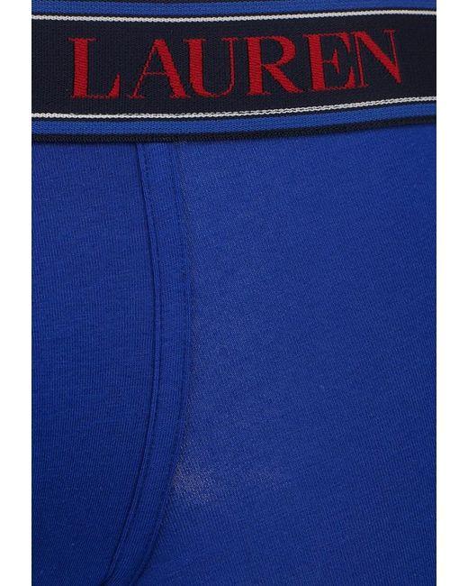 Трусы Polo Ralph Lauren                                                                                                              синий цвет