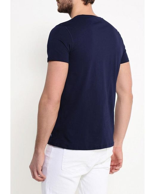 Футболка Polo Ralph Lauren                                                                                                              синий цвет
