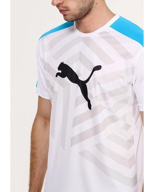 Футболка Спортивная Puma                                                                                                              белый цвет