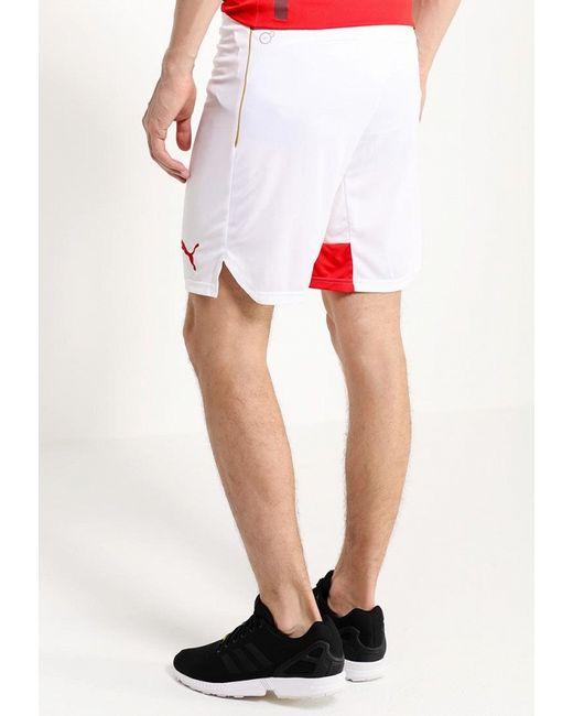 Шорты Спортивные Puma                                                                                                              белый цвет