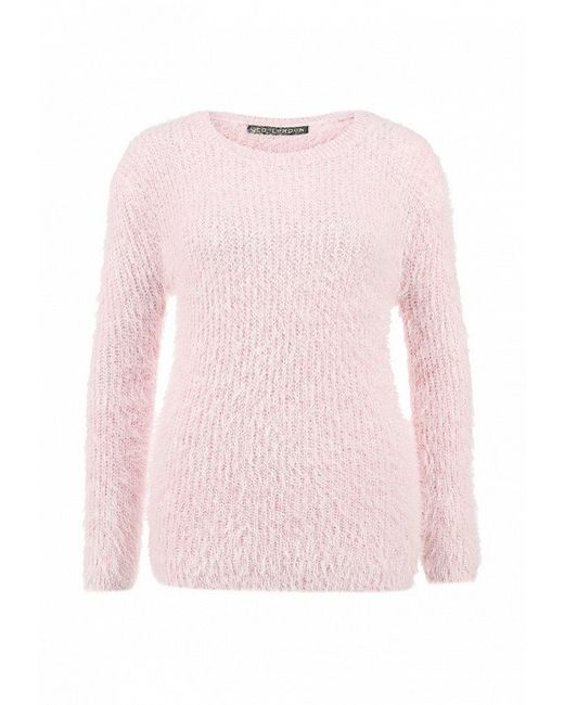 Джемпер Qed London                                                                                                              розовый цвет