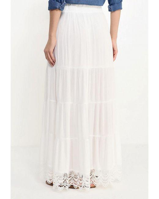 Юбка Qed London                                                                                                              белый цвет