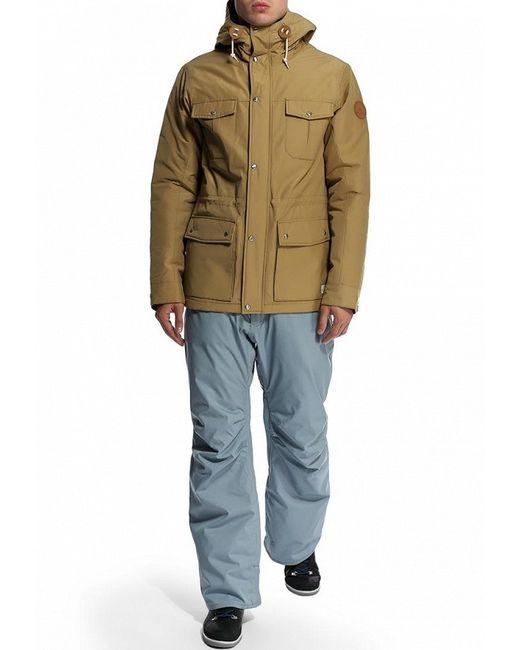 Куртка Утепленная Quiksilver                                                                                                              бежевый цвет