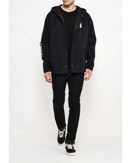 Куртка Quiksilver                                                                                                              чёрный цвет