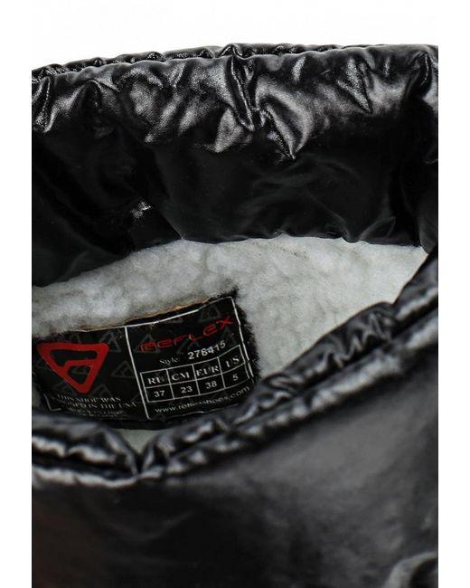 Дутики Reflex                                                                                                              чёрный цвет