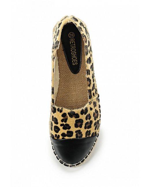 Эспадрильи Retro Shoes                                                                                                              бежевый цвет