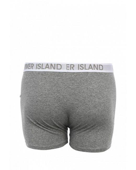Комплект Трусов 5 Шт. River Island                                                                                                              серый цвет