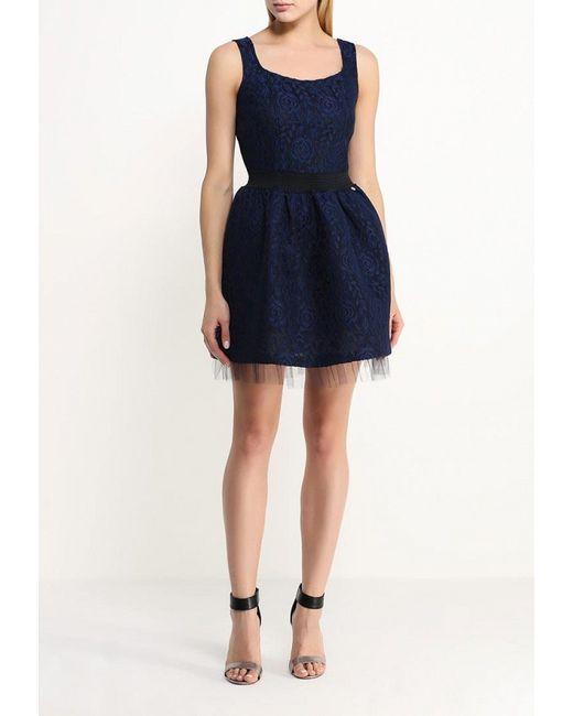 Платье Rinascimento                                                                                                              синий цвет