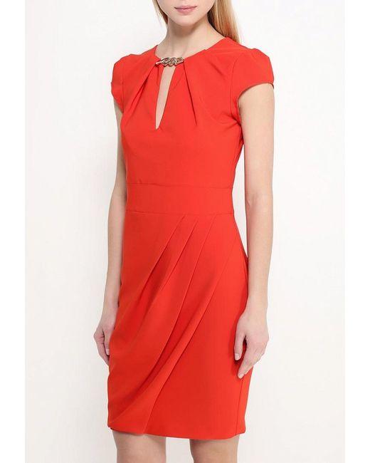 Платье Rinascimento                                                                                                              красный цвет