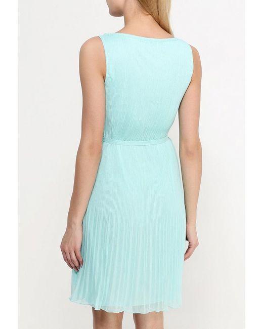 Платье Sela                                                                                                              Бирюзовый цвет