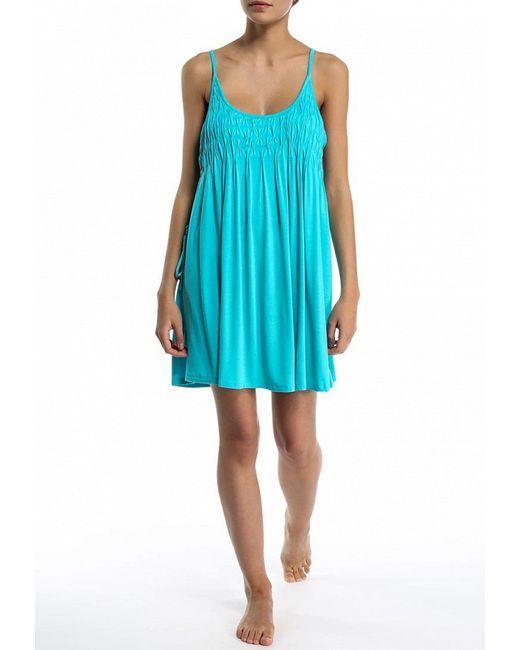 Платье Пляжное Seafolly                                                                                                              голубой цвет