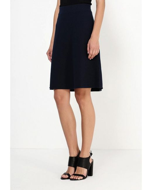 Юбка Selected Femme                                                                                                              синий цвет