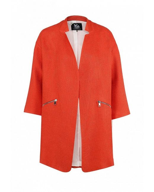 Пальто Sinequanone                                                                                                              многоцветный цвет