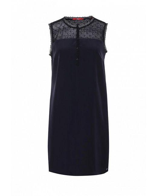 Платье s.Oliver                                                                                                              синий цвет