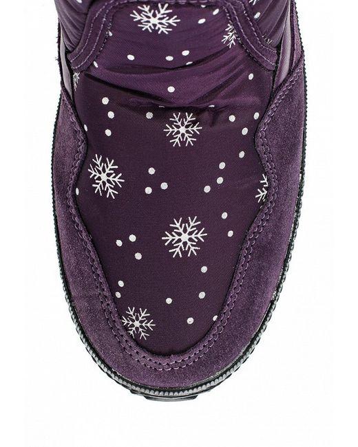 Дутики Spur                                                                                                              фиолетовый цвет