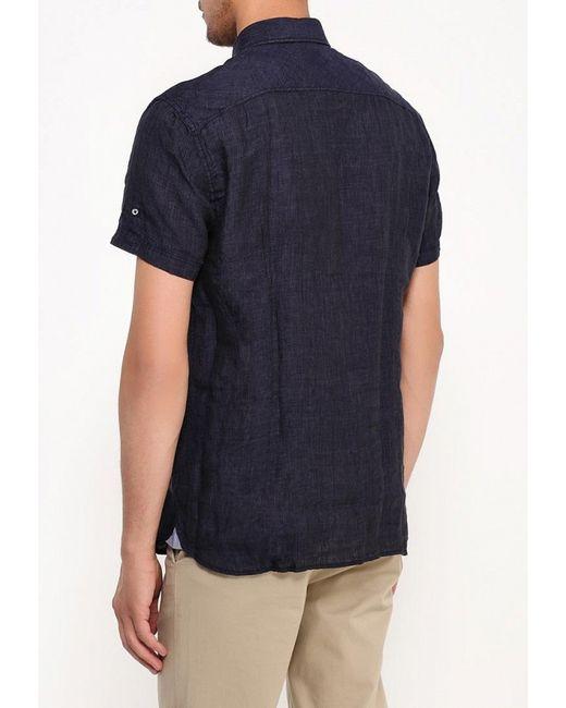Рубашка Strellson                                                                                                              синий цвет