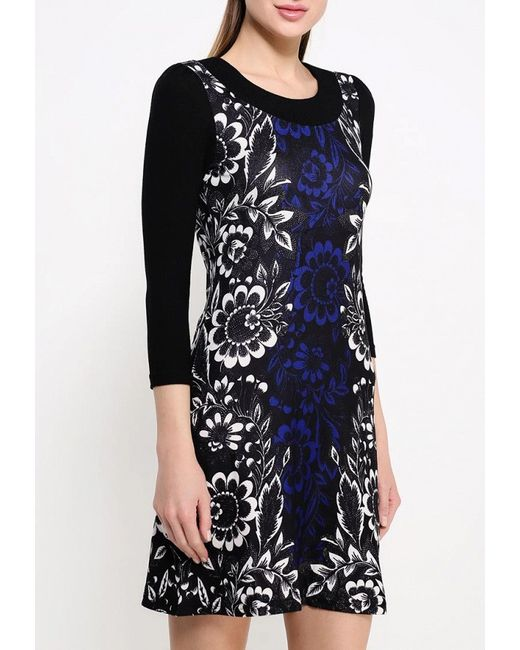 Платье Stella                                                                                                              синий цвет