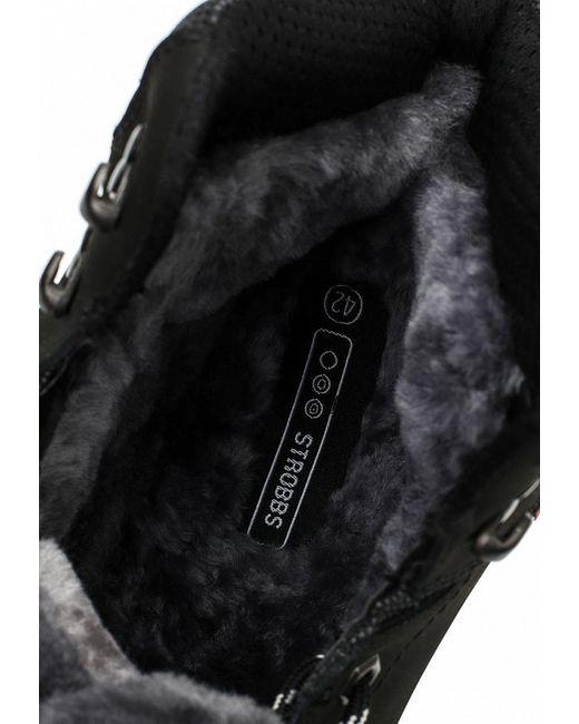 Ботинки Strobbs                                                                                                              чёрный цвет