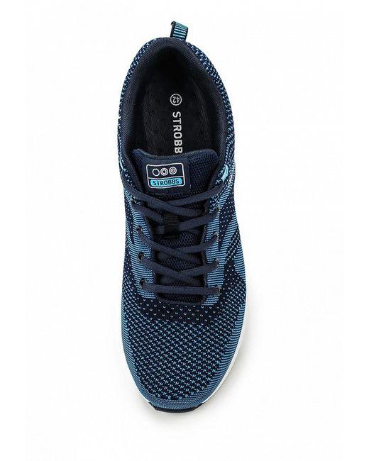 Кроссовки Strobbs                                                                                                              синий цвет