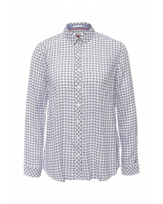 Рубашка Tommy Hilfiger Denim                                                                                                              белый цвет