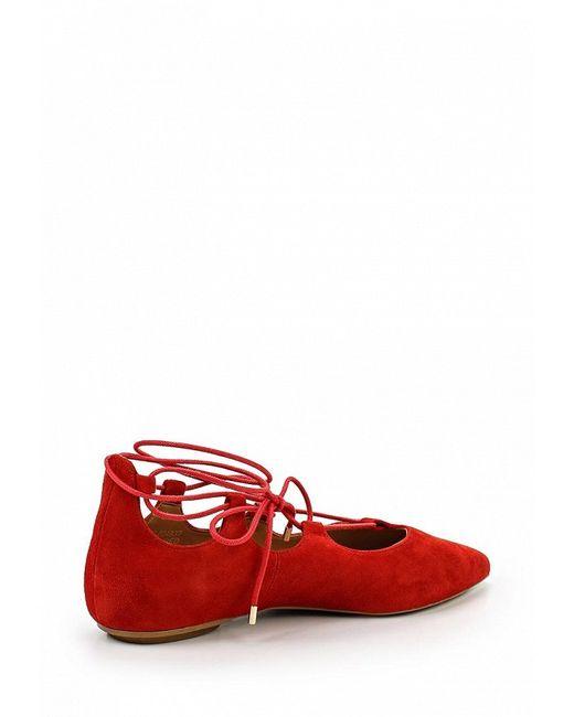 Туфли Topshop                                                                                                              красный цвет