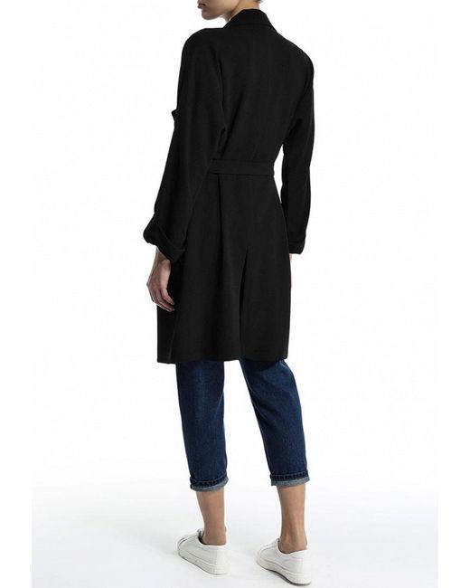 Пальто Topshop                                                                                                              чёрный цвет